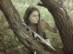 Barbarian girl #3 by ohlopkov