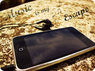 Music is my ESCAPE by xx-LovelyRose-xx