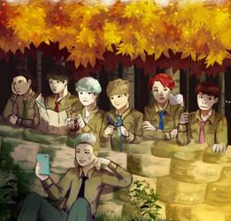 BTS by KuroRyu15