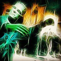 frankenweb green by paulispablo