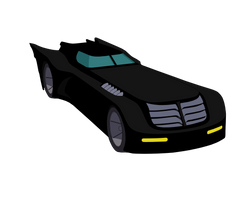 Batman TAS: The Batmobile by TheRealFB1 by TheRealFB1
