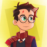 Harry Potter Toon by Radiothiago