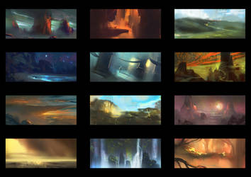 Color Thumbnails #1 by MartinBailly