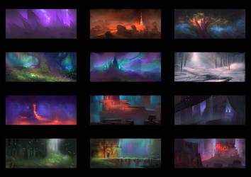 Color Thumbnails #4 by MartinBailly
