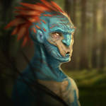 Forest Troll by MartinBailly