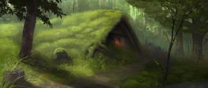 Akiesmenmoo - environment by MartinBailly