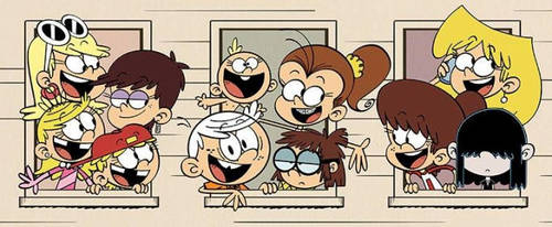 The Loud House Group Picture by Stephen524