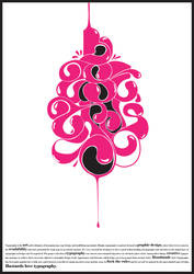 Bastards 09 Typography poster by helenegunn