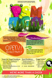 PSM OPEN RECRUITMENT by adityareza