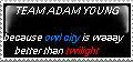 twilight VS owl city by blob9907