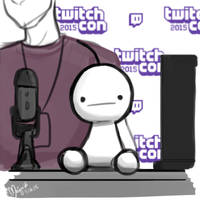 Cry at TwitchCon! by fangirloftheopera