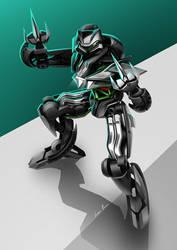 BikeBot - Kawasaki Ninja H2 by Jack85