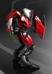 BikeBot - Ducati 999 by Jack85