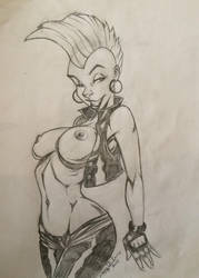 Pinup: Punk Storm by Goblingear