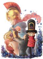 Rebecca and the Soldier by MoritaTsubaki