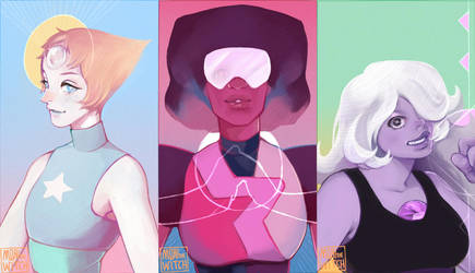 Crystal Gems by MoritaTsubaki