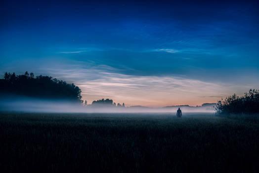Noctilucent Night by MikkoLagerstedt