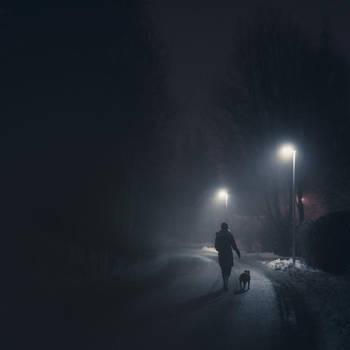 Night Walk by MikkoLagerstedt