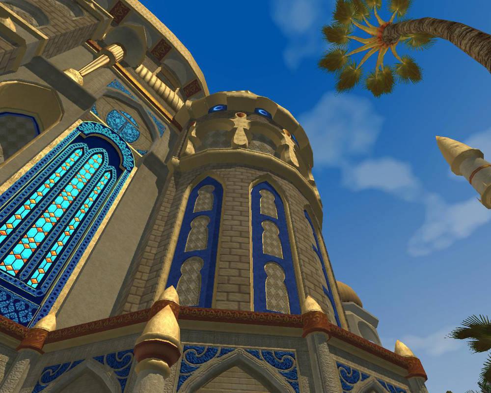 Shimmering Citadel 2 by aquaviann