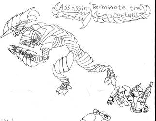 Bionic Assassin Design by Antaria-Nova