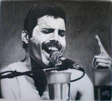 Freddie Mercury by SweetCoconutMilk