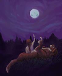 Full Moon Follies by karakanatmelek