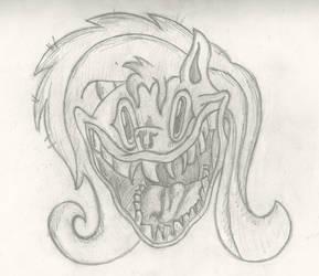 Pony Sketch - FlutterShed by TheStorm117