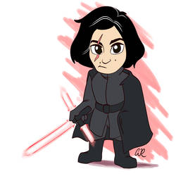 Kylo Ren (May the Fourth Be With You) by SlushiOwl