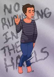 No Running In the Halls (Baldi's Basics) by SlushiOwl