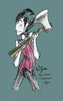 Wilson from Don't Starve by psycho23