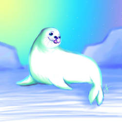Aurora Seal by psycho23