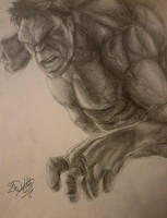 The Incredible Hulk by DeVianThaI