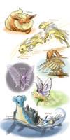 Pokemon Go team by Pawlove-Arts