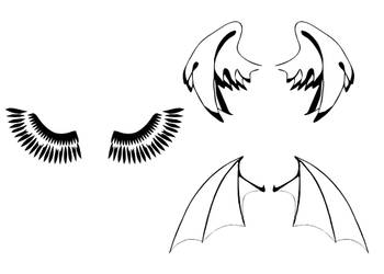 Wing Shapes by AbsolutePhelps