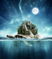 Turtle Island by Rowye