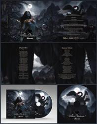CD COVER: William Blackswan - Horrors by Rowye