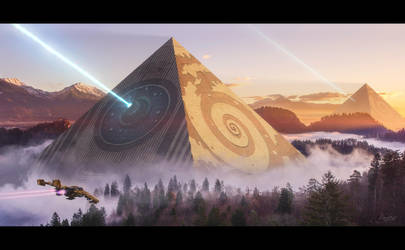 Pyramids by Rowye