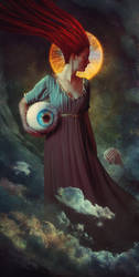 The Beholder of the Eye by Rowye