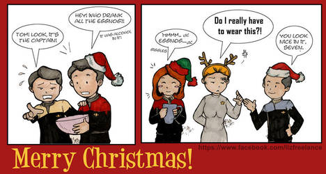 Voyager Christmas 2013 by haidokun14