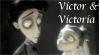 Victor-x-Victoria Stamp by Madame-Kikue