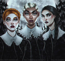 The wicked sisters | JHU by JHUffizi