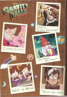 Gravity Falls poster by 4RAINYNITE