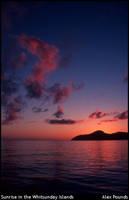 Sunrise in the Whitsundays by aCreature