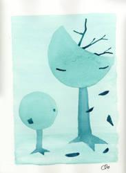 trees by blueradiostar