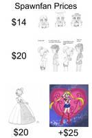 Commission Prices by Escafa