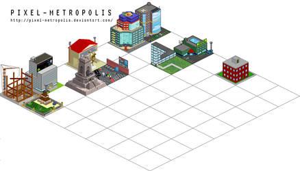 Pixel-Metropolis by pixel-metropolis
