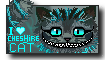 I Love Cheshire cat stamp by Nappah