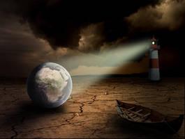 Desert Earth by MickSeventyFour