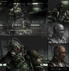 Cyborg by 3d41andi