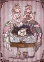marionette theater by nkns0ksn